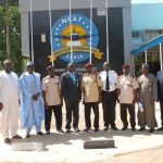 Pictures: Federal Road Safety Corps, Sector Commander Visits NCAT, Zaria