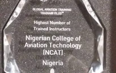 Photo News: NCAT bags ICAO award for the Highest trained Instructors.