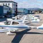 Nigerian College of Aviation Technology takes delivery of six Diamond DA40 NG training aircraft.