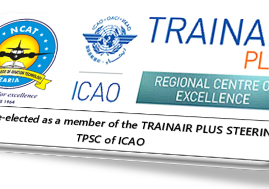 NCAT re-elected member of the TRAINAIR PLUS T.P.S.C. of ICAO, for another 3 years.
